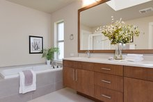 House Plan Design - Contemporary Interior - Master Bathroom Plan #132-564