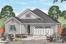 House Plan Design - Country Exterior - Front Elevation Plan #513-2166