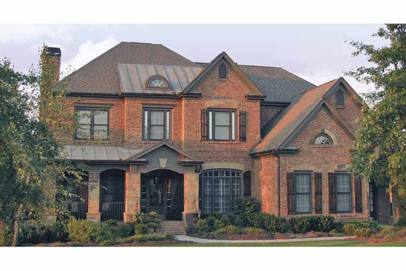 Traditional Exterior - Front Elevation Plan #54-333 - Houseplans.com