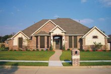 Country Exterior - Front Elevation Plan #84-646