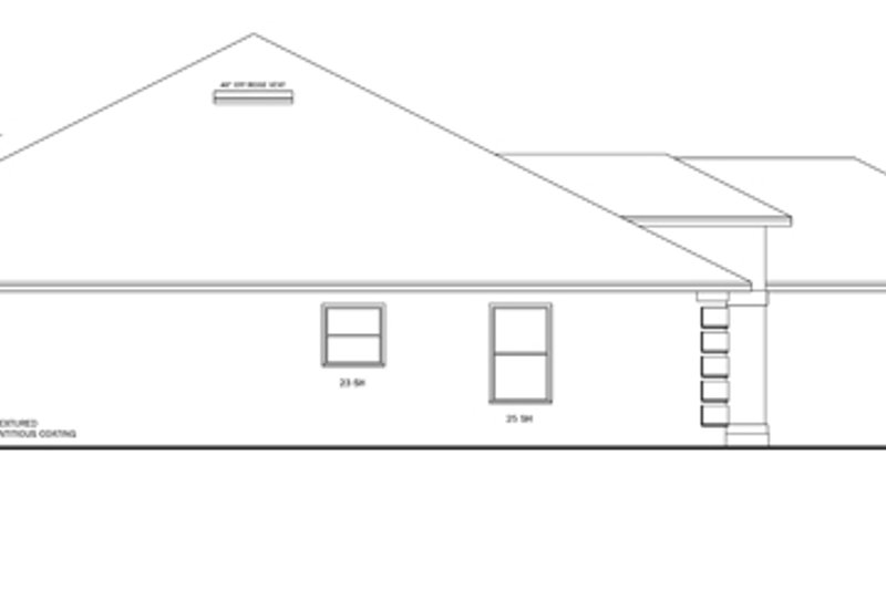 Prairie Exterior - Other Elevation Plan #1058-26 - Houseplans.com