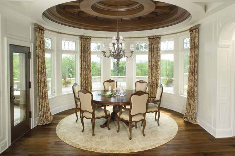 Country Interior - Dining Room Plan #928-183 - Houseplans.com