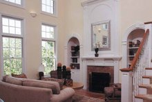 Classical Interior - Family Room Plan #46-601