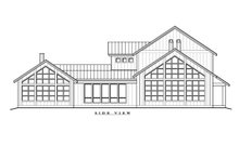 House Plan Design - Farmhouse Exterior - Other Elevation Plan #935-17