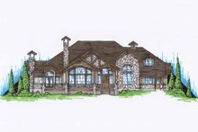 Architectural House Design - Traditional Exterior - Front Elevation Plan #945-73