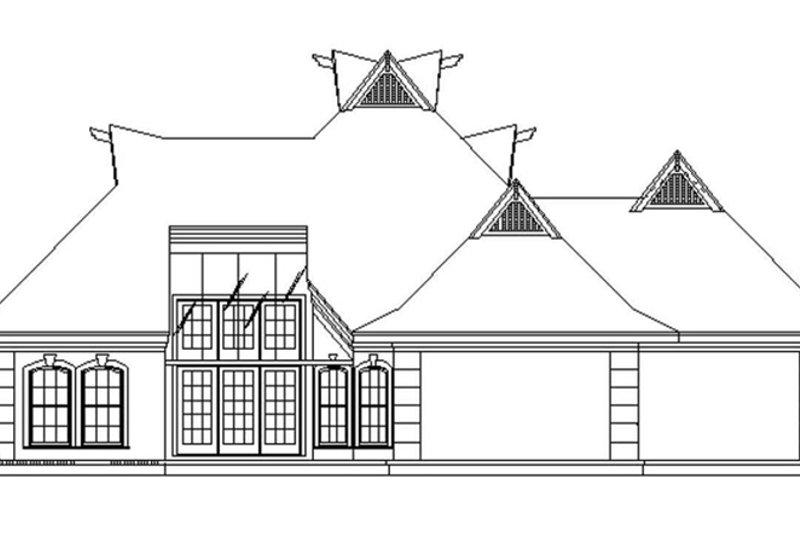 European Exterior - Other Elevation Plan #45-568 - Houseplans.com