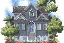 Dream House Plan - Craftsman Exterior - Front Elevation Plan #930-151
