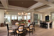 Craftsman Style House Plan - 4 Beds 3.5 Baths 3719 Sq/Ft Plan #928-175 Interior - Dining Room