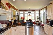 Southern Style House Plan - 4 Beds 4.5 Baths 3728 Sq/Ft Plan #137-128 Interior - Kitchen