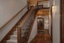 Dream House Plan - Log Interior - Entry Plan #928-263