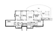 Craftsman Style House Plan - 6 Beds 4.5 Baths 3877 Sq/Ft Plan #928-252 Floor Plan - Lower Floor Plan