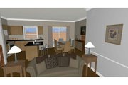 Craftsman Style House Plan - 3 Beds 2 Baths 1244 Sq/Ft Plan #126-183