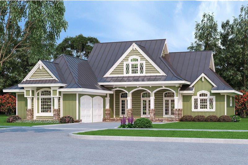 House Plan Design - Ranch Exterior - Front Elevation Plan #45-578