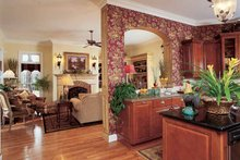 Country Interior - Family Room Plan #952-275