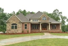 Country Exterior - Front Elevation Plan #437-72