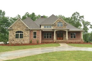 Dream House Plan - Country Exterior - Front Elevation Plan #437-72