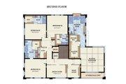 Beach Style House Plan - 4 Beds 4.5 Baths 5680 Sq/Ft Plan #548-12 Floor Plan - Upper Floor Plan