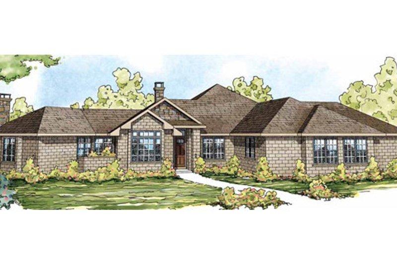 Dream House Plan - European Exterior - Front Elevation Plan #124-832