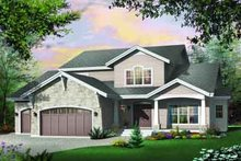 Traditional Exterior - Front Elevation Plan #23-539