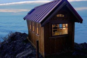 Cottage Exterior - Front Elevation Plan #896-2