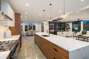 Modern Style House Plan - 4 Beds 3.5 Baths 3595 Sq/Ft Plan #1066-3 Interior - Kitchen