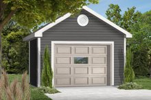 Traditional Exterior - Front Elevation Plan #23-424