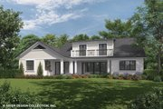 Country Style House Plan - 4 Beds 4.5 Baths 3643 Sq/Ft Plan #930-469 Exterior - Rear Elevation
