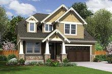 Craftsman Exterior - Front Elevation Plan #48-514