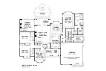European Floor Plan - Other Floor Plan Plan #929-25
