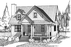 Country Exterior - Front Elevation Plan #79-265
