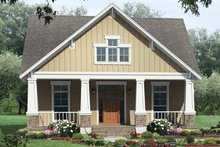 Craftsman Exterior - Front Elevation Plan #21-421