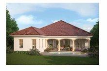 Home Plan - Mediterranean Exterior - Rear Elevation Plan #938-24