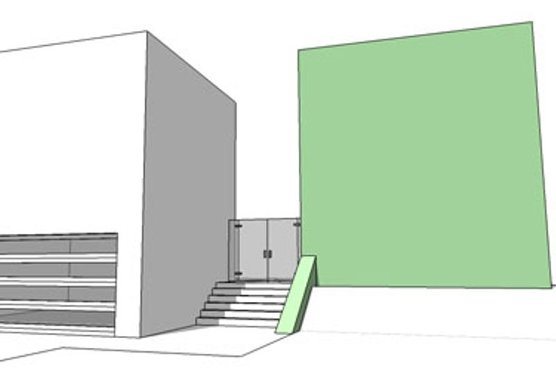 Contemporary Exterior - Front Elevation Plan #64-313 - Houseplans.com