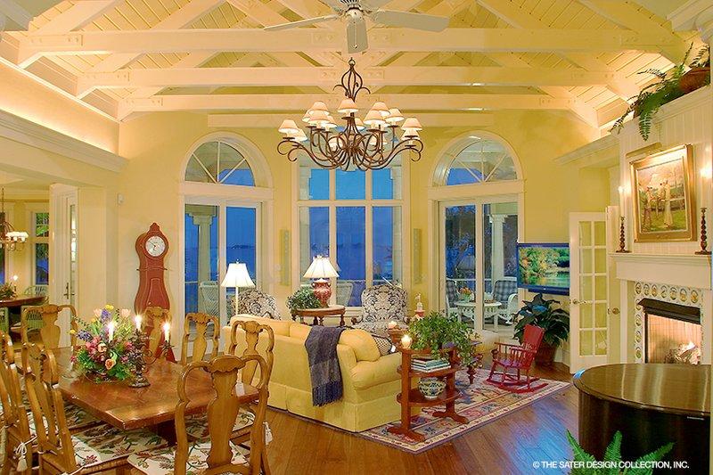 Country Interior - Family Room Plan #930-472 - Houseplans.com
