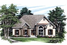 House Design - Country Exterior - Front Elevation Plan #927-240