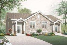 Craftsman Exterior - Front Elevation Plan #23-2452