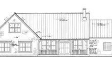 Dream House Plan - Country Exterior - Rear Elevation Plan #140-170