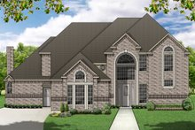 Dream House Plan - Traditional Exterior - Front Elevation Plan #84-419