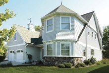 Traditional Exterior - Front Elevation Plan #928-70