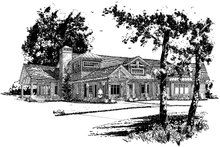 Home Plan - Ranch Exterior - Front Elevation Plan #942-32
