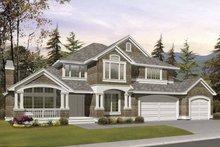 Craftsman Exterior - Front Elevation Plan #132-389