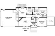 Ranch Style House Plan - 2 Beds 1 Baths 931 Sq/Ft Plan #1060-38 Floor Plan - Main Floor