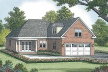 House Plan Design - Traditional Exterior - Rear Elevation Plan #453-508