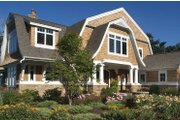 Craftsman Style House Plan - 3 Beds 3 Baths 5162 Sq/Ft Plan #928-232 Exterior - Front Elevation