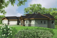 Home Plan - Ranch Exterior - Front Elevation Plan #117-861