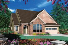 Traditional Exterior - Front Elevation Plan #48-273