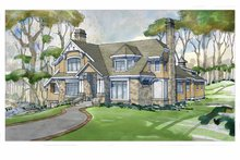 Craftsman Exterior - Front Elevation Plan #928-235