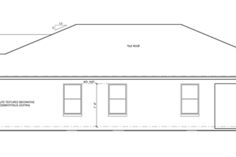 Mediterranean Exterior - Other Elevation Plan #1058-56 - Houseplans.com