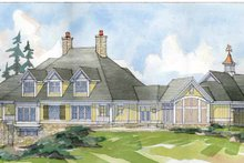 Architectural House Design - Traditional Exterior - Rear Elevation Plan #928-33