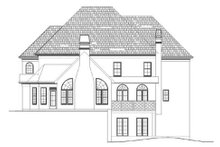 Home Plan - European Exterior - Rear Elevation Plan #119-338